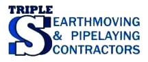 Triple S Earthmoving Logo